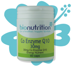 Bio Nutrition : Antioxidant & Immune Boost : Co Enzyme Q10 30mg (capsules)