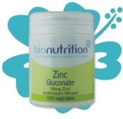 Zinc Gluconate 30mg