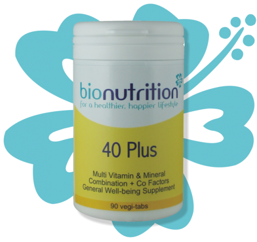 Bio Nutrition : General Wellbeing : 40 Plus